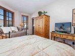 Bedroom 2 is the perfect retreat for all the kids, it also has private access to the deck.