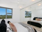 Queen Bedroom, mountain views, linen provided, plenty of storage, ensuited and private.