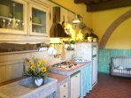 Cucina in pietra.