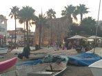 La Cala beach front town