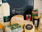 Purchase our local produce at Bodnant Welsh Food Centre