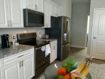 High end kitchen finishes.