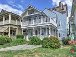This handsome Ocean Grove vacation rental house is the perfect setting for your New Jersey getaway!