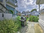 You'll also have access to the gas grill at this Ocean Grove vacation rental house!