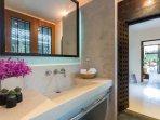 Bathroom in Second Bedroom Wing.