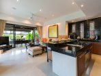 Living Room/Kitchen.