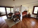 One of the Hale Koa bedrooms during daytime - you can clearly see it's beauty