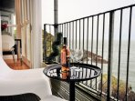 Enjoy the sea views from your own private balcony