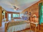 A dreamy master suite