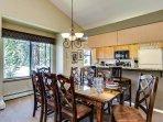 Park Forest Dining Area Breckenridge Lodging Vacation Rentals