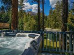 Park Forest Private Hot Tub Breckenridge Lodging Vacation Rental