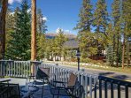 Park Forest Patio Breckenridge Lodging Vacation Rentals