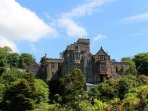 A fine view of this monumental castle on the west coast of Scotland