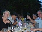 Diners verzorgd door chef Luciano