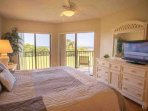 King Size Bed, Balcony Access and TV