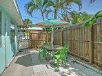 Enjoy some fresh Florida air on the patio!