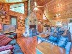 Log-cabin luxury