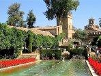 Jardines del Alcázar de lo Reyes Cristiano