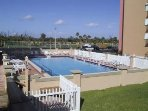Two swimming pools (heated in winter)