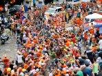 Tour de France week - ascending the hairpins!