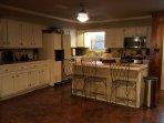 Indoor kitchen with Island