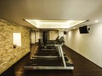 The Aldea Thai fitness center