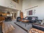 The townhouse provides privacy with multi-level living as well as large common living areas for spending time with...