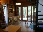 Eat corner - Living room - Staires for bedroom