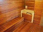 Sauna seca e úmida