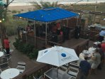 Summertime fun w/live music on the beach, our neighbor-the Clarion Hotel. Enjoy their outdoor dining