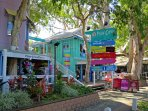 Shops - Palm Cove Village - Beachfront. 5 - 10 minutes stroll from your apartment