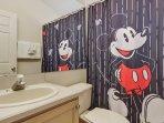 Mickey kids bathroom