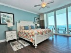 Master Bedroom with Gulf View Balcony Access