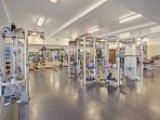 Strength Training Machines in 24 Hour Gym