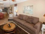 Living room - wireless high speed internet included