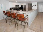 Breakfast bar seating for 4