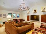 Watch the Game or a Movie - Lots of Comfortable Seating in the Family Room