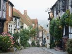 Rye - Cinque Port with cobbled streets, quaint and historic buildings. Plenty to do and see.