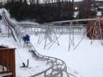 Mountain coaster located at CBK mountain adventures