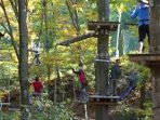 100 obstacle tree top adventure located at CBK mountain adventures