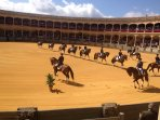 Incredible displays of horsemanship during the September fiesta at the bull ring in Ronda, Andalucia