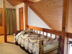 4th Twin Bed in Loft Area