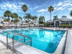 Large Club House Pool across from the town home