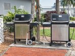 Weber Gas Grills at the Club House across from our town home