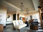living room at villa 2 bed room