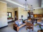 living room at villa 4 bedrooms
