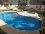 Small but usable pool