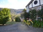 Enjoy a bicycle ride into the Village for fresh bread.