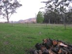 Every aspect enjoys glorious views of escarpment & farm land. Put another log on the fire!