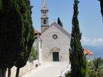 The Monastery above Orebic